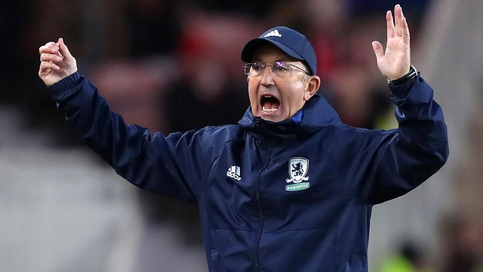 Middlesbrough manager - Tony Pulis