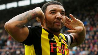 Watford striker Troy Deeney