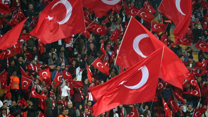 Turkey football fans