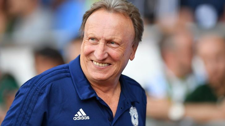 Cardiff Manager Neil Warnock