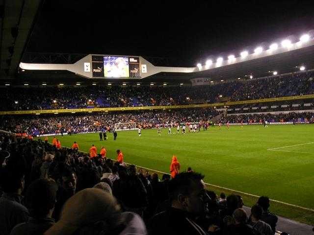 Will the big screen at White Hart Lane be showing plenty of goal replays on Saturday?