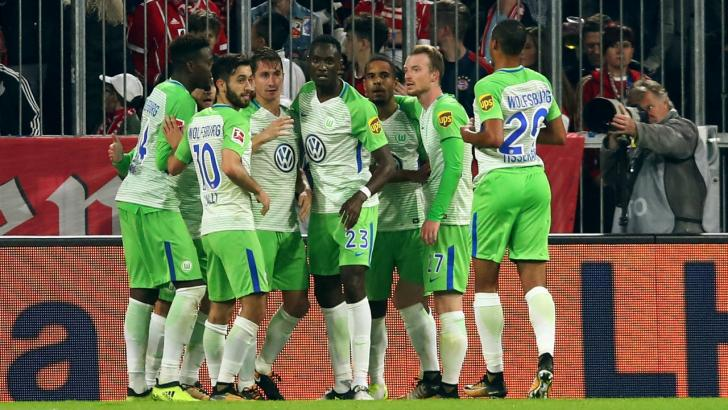 Wolfsburg football players