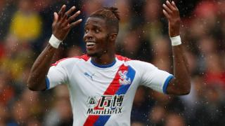 Crystal Palace star man Wilfried Zaha