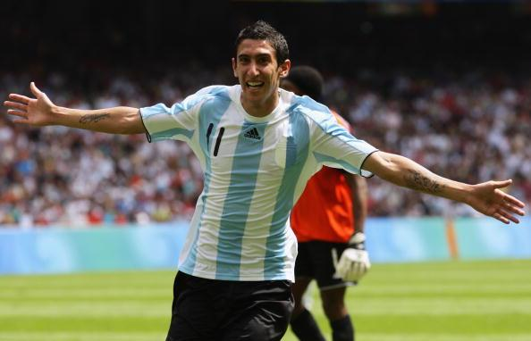 Argentine Angel di Maria has been consistently linked with PSG