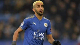 Riyad Mahrez scored for Leicester in a 2-1 defeat in the reverse fixture