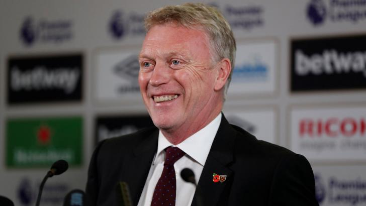 Will David Moyes still be smiling after West Ham's match with Newcastle?