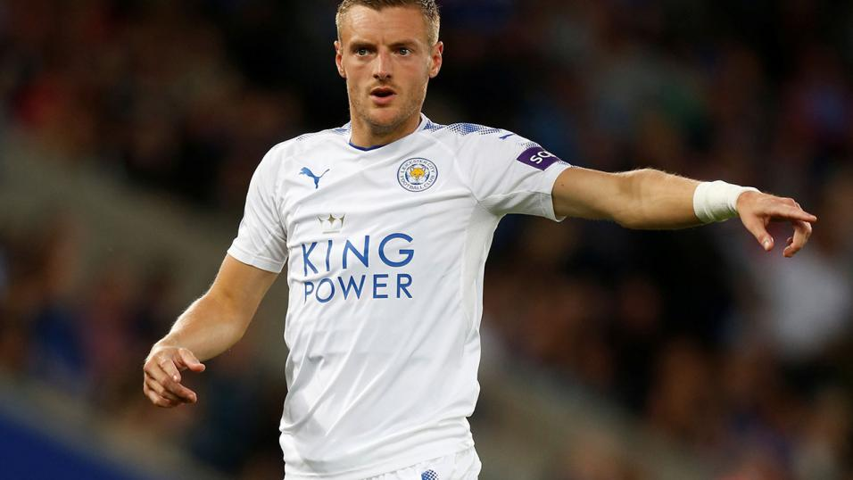 Leicester City striker - Jamie Vardy