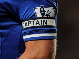 Almost certainly the last time you'll see this image of John Terry wearing the captain's armband in a Chelsea match.