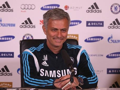 Plenty to smile about . . . Jose Mourinho has got everything right this season.