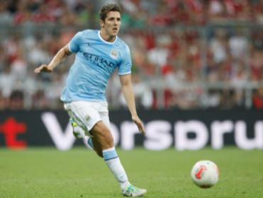 Stevan Jovetic could enjoy a rare run-out for Manchester City