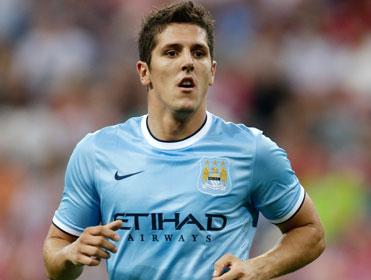 Like his club, Stevan Jovetic has started the season in fine form