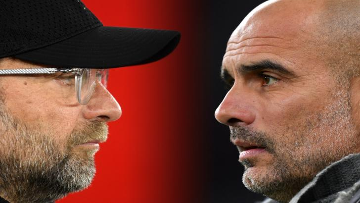 Jurgen Klopp and Pep Guardiola face off this weekend