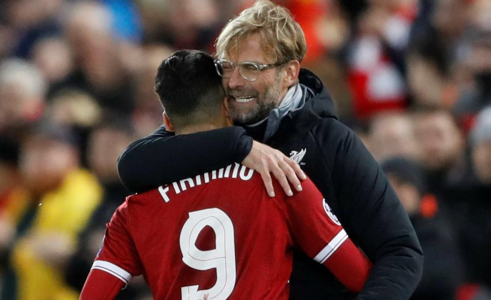 Jurgen Klopp will ask Roberto Firmino to lead Liverpool's pressing