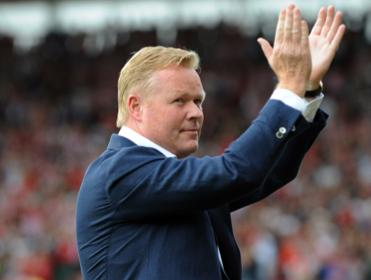 Will Ronald Koeman still be applauding after Southampton's game with West Brom?