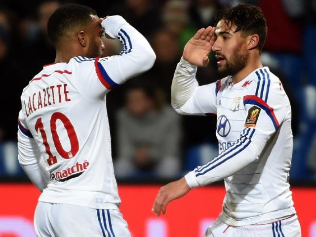 Alexandre Lacazette and Nabil Fekir have been outstanding in attack for Hubert Fournier's side