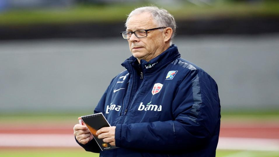 Norway coach Lars Lagerback