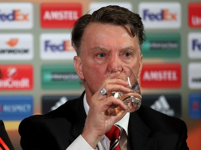 Will Louis van Gaal be drinking to Manchester United's success after their match with Bournemouth?