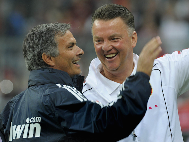 Jose Mourinho and Louis van Gaal go head-to-head on Saturday night