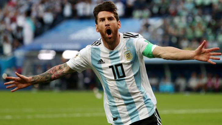 Argentina striker and captain Lionel Messi