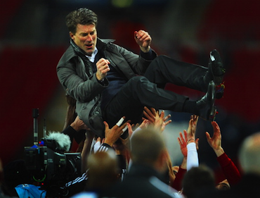 Last season's achievements garnered a cup win, but are the wheels falling off for Michael Laudrup?