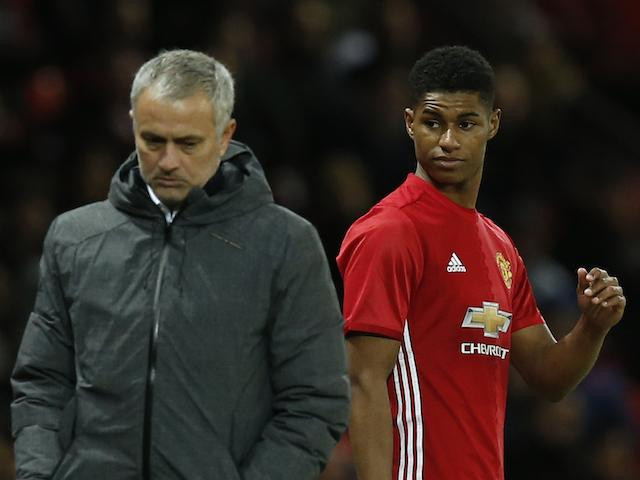 With no Zlatan Ibrahimovic, Jose Mourinho will be depending upon Marcus Rashford