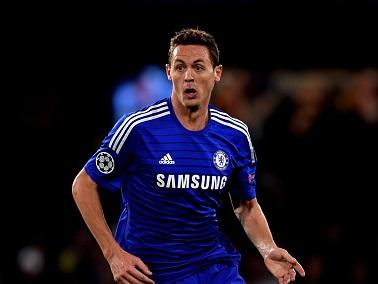 Nemanja Matic was given his marching orders against Burnley today