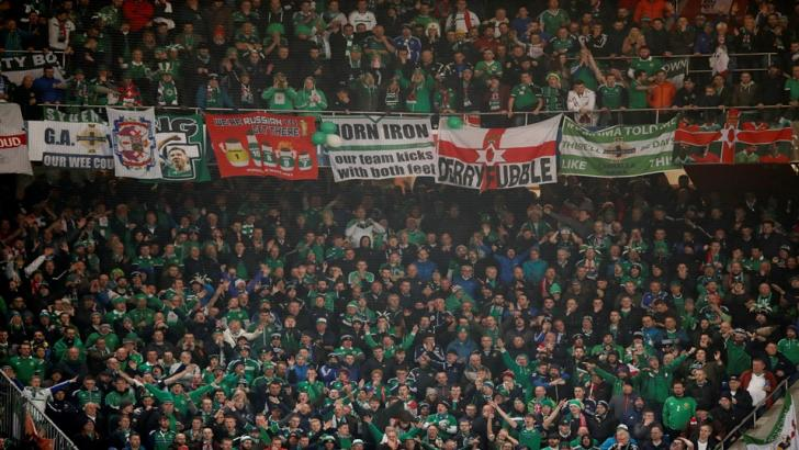 Northern Ireland football supporters