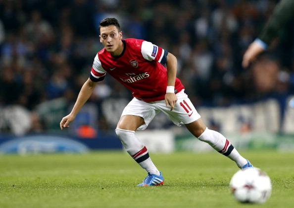 Mesut Ozil has been in sumptuous form for Arsenal