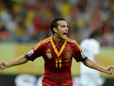 Could Pedro Rodriguez be Spain's biggest attacking threat?