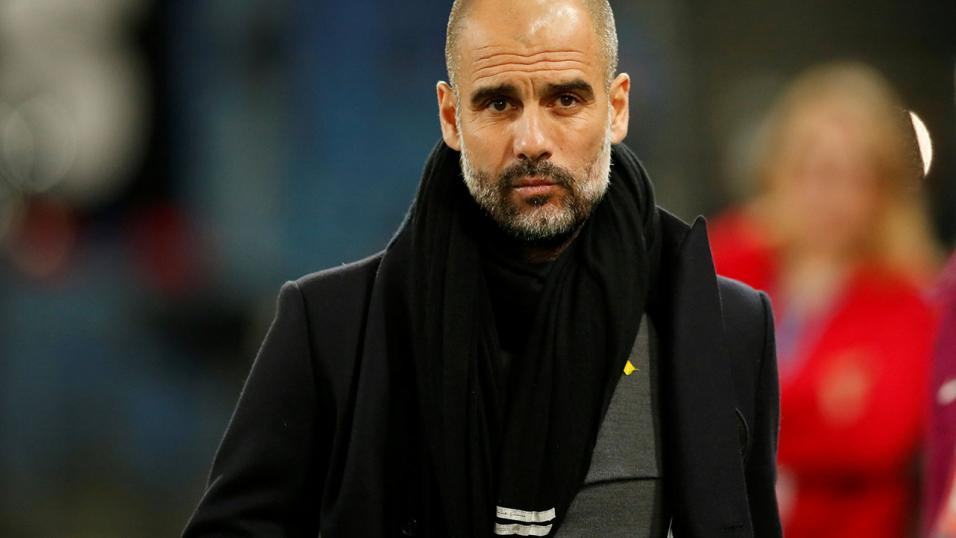 Manchester City manager - Pep Guardiola