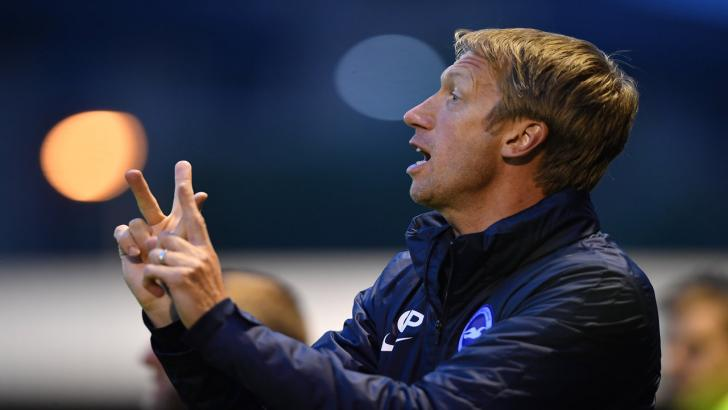 Brighton manager - Graham Potter