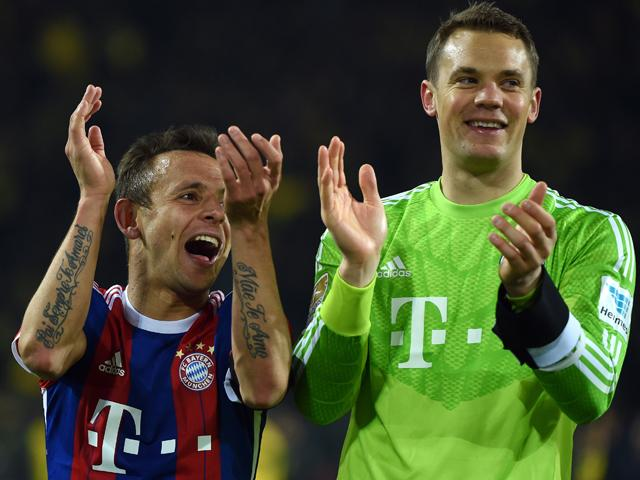 Bayern Munich's clean-sheet-keeping machine is in as good a condition as ever