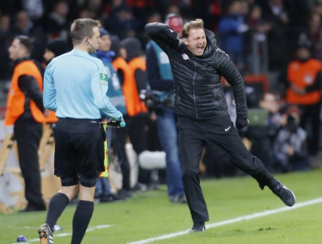 Leipzig's Ralph Hasenhuttl should be celebrating again this season