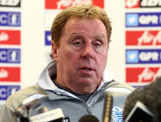 Harry Redknapp's QPR haven't won a single point on the road all season