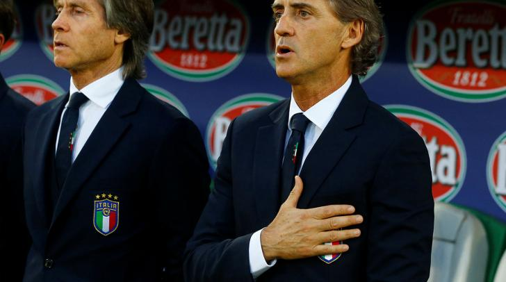 Italy manager Roberto Mancini.