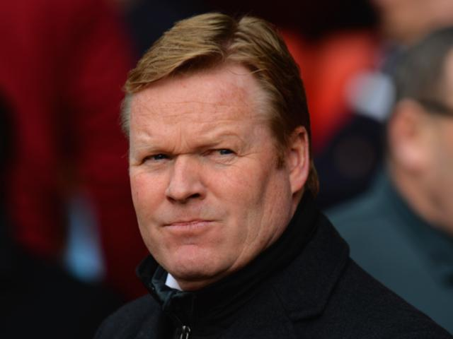 Will Ronald Koeman look happier after Southampton's match with Stoke?