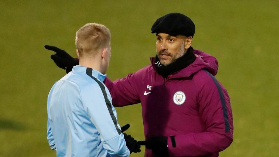 Guardiola must preach bravery ahead of the clash with Liverpool's front three