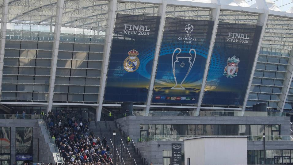 The Champions League final: Real Madrid v Liverpool