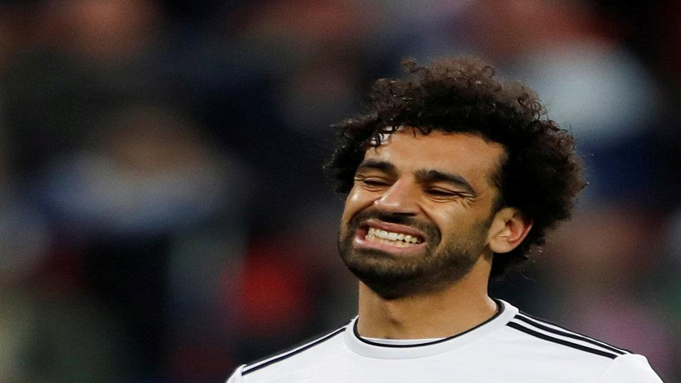 World Cup fans panic after Mohamed Salah's subdued goal celebration