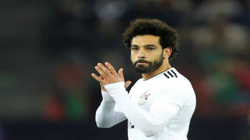 Egypt forward Mohamed Salah