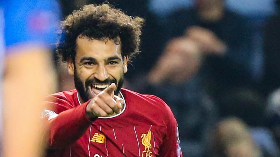 Liverpool striker Mo Salah