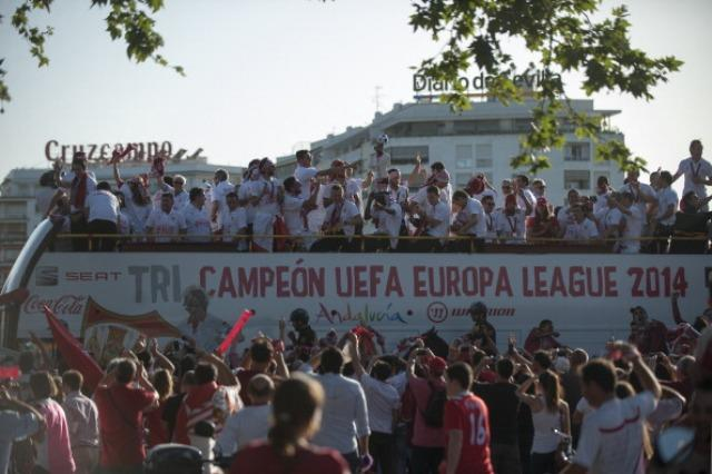 Will Sevilla be celebrating another Europa League win?