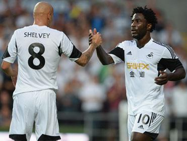 Can Swansea's Wilfried Bony continue his fine scoring record when he faces Aston Villa?