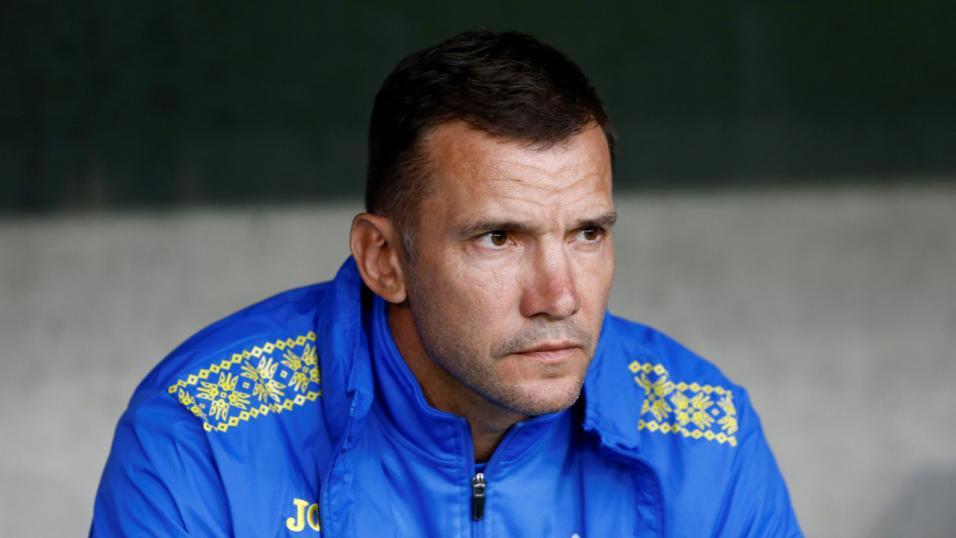Ukraine manager Andriy Shevchenko.