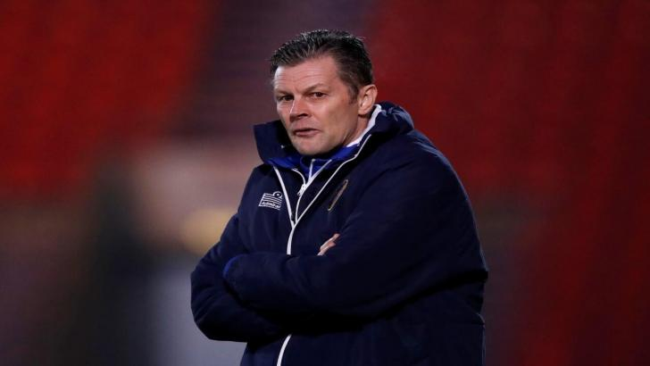 Shrewsbury Town boss Steve Cotterill