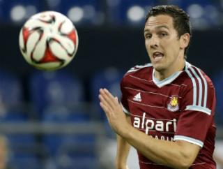 Stewart Downing has been in good form for West Ham