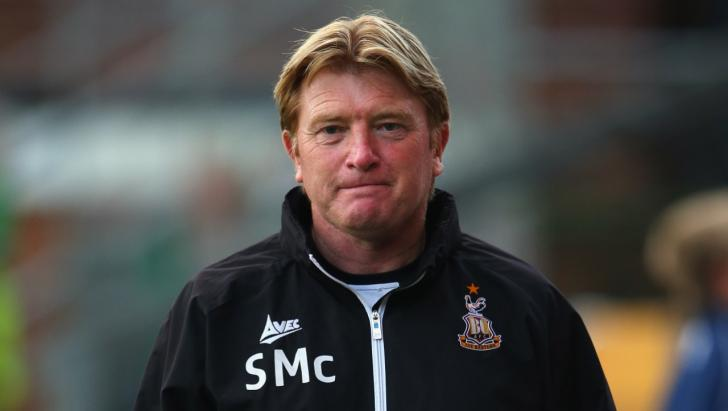 Stuart McCall, the Bradford City manager
