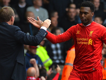 Daniel Sturridge has scored in his last five away games - will that run continue?