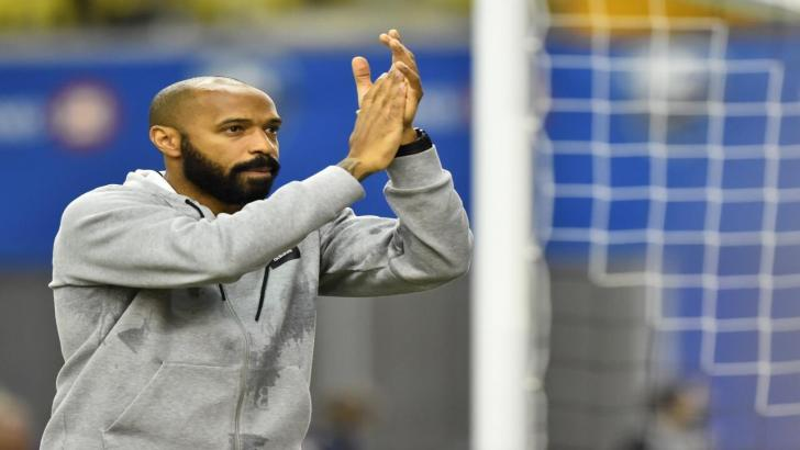 Montreal Impact coach Thierry Henry