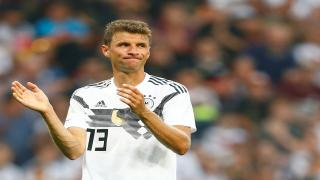 Germany forward Thomas Mueller